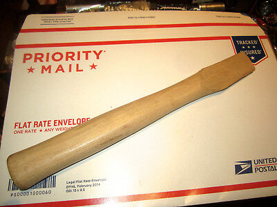 """Vintage Very Good Quality Unknown Maker Hickory Hatchet Handle 13"""""""