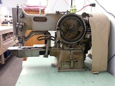 PFAFF 3334 Tacker Industrial Sewing Machine, Motor and Table