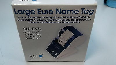 SEIKO European Name Tag SLP-ENTL