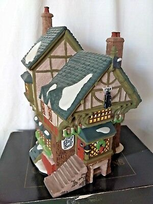 Dept 56 Dickens Village THE PIED BULL INN Building w/ box Combine Shipping! #61