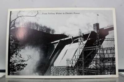 Tennessee TN Norris Dam Clinch River Electric Power Postcard Old Vintage Card PC