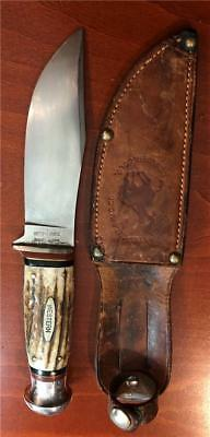 Old Antique Western States Stag Hunting Knife
