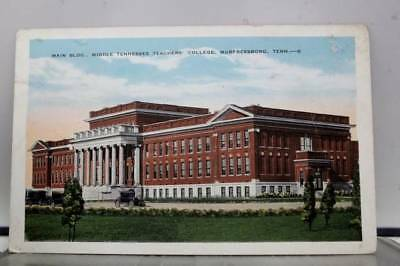 Tennessee TN Murfreesboro Middle Teachers College Postcard Old Vintage Card View