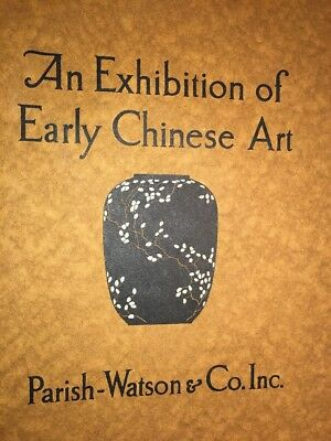 Exhibition Early Chinese Graphic Art Parish Watson & Co  Cover  Art 1923
