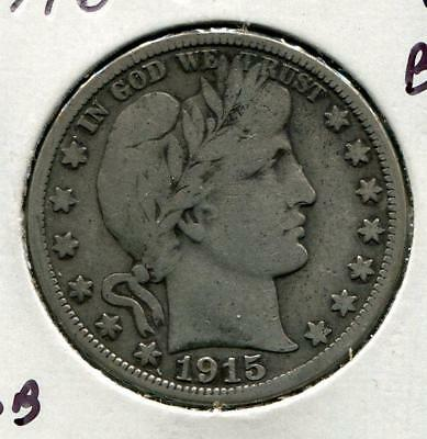 1915-S Barber Half | Silver 50 c | San Francisco (RC10941)