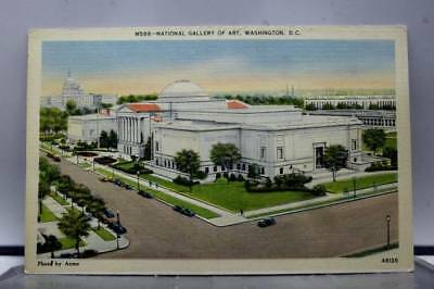 Washington DC National Gallery of Art Postcard Old Vintage Card View Standard PC