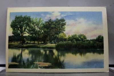 Scenic Lake Postcard Old Vintage Card View Standard Souvenir Postal Post PC