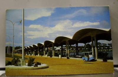 Mississippi MS Biloxi Broadwater Beach Hotel Marina Postcard Old Vintage Card PC