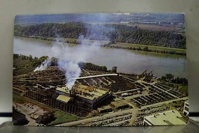 Tennessee TN Chattanooga Soil Pipe Division Superspun Postcard Old Vintage Card
