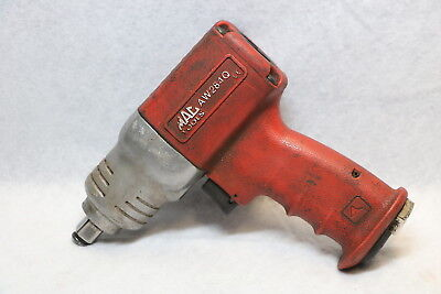 """MAC Tools AW284Q 1/2"""" Impact Air Wrench Lightweight Composite TESTED Working NR"""