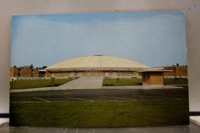 Mississippi Hattiesburg Reed Green Coliseum University Southern USM Postcard Old