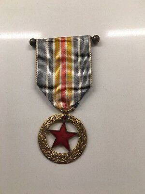 France WWI French Wounded Medal 1914-1918  Rare 2nd type