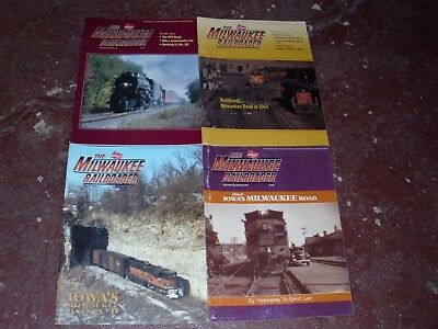 The Milwaukee Railroader Historical Society Magazine - (4) Issues 1993-1995