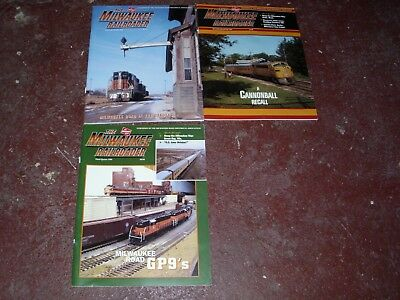 The Milwaukee Railroader Historical Society Magazine - (3) Issues 1998