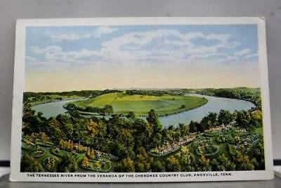 Tennessee TN Cherokee Country Club Knoxville Postcard Old Vintage Card View Post