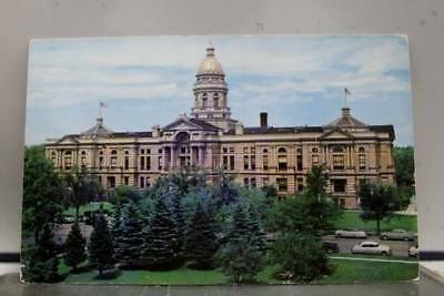 Wyoming WY State Capitol Cheyenne Postcard Old Vintage Card View Standard Post