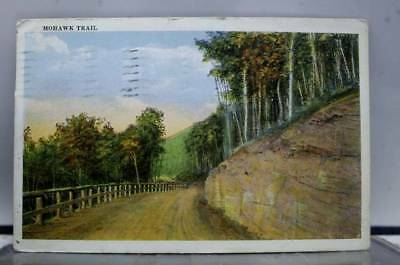 Scenic Mohawk Trail Postcard Old Vintage Card View Standard Souvenir Postal Post