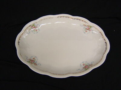 Edwin M. Knowles Large Platter #118 Semi-Vitreous GC