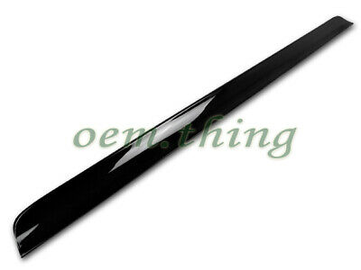 2020 For Chrysler 300 300C 2nd 4D Rear Roof Window Spoiler Wing PUF Painted