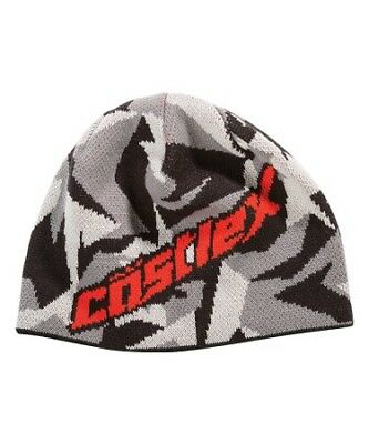 Castle X Beanie Hat Shattered Red