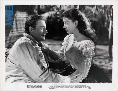 John Wayne Gail Russell Wake of the Red Witch VINTAGE Photo