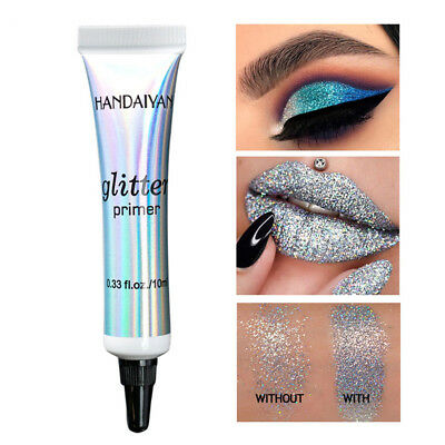 Women Sequin Glitter Primer Eyeshadow Foundation Base Makeup Cream Acc Gift Hot