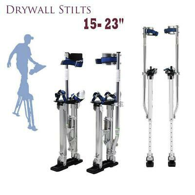 "Drywall Stilts 15"" - 23"" Aluminum Tool Stilt For Painting Painter Taping Durable"