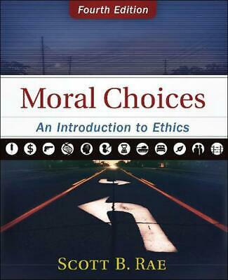 Moral Choices: An Introduction to Ethics by Scott Rae Hardcover Book Free Shippi