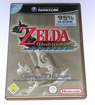"Gamecube Spiel "" The Legend Of Zelda The Windwaker "" Deutsch / Ovp"