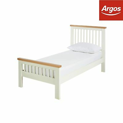 Argos Home Aubrey Bed Frame - Two Tone - Choice of Size
