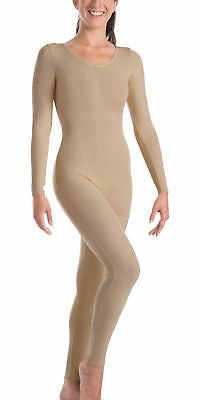 """Body Wrappers Womens MicroTECHâ""""¢ Long Sleeve Unitard MT217"""