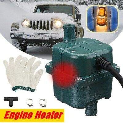 220V 1500W Auto Car Engine Pump Water Tank Air Cooled Engine Heater Preheater EU