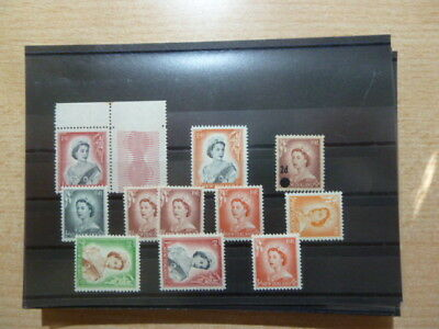 S180/10285 NEUSEELAND NEW ZEALAND Lot Freimarken Queen Elizabeth II xx