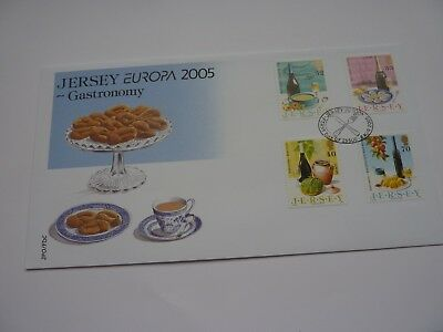 Jersey Gastronomy 2005 FDC