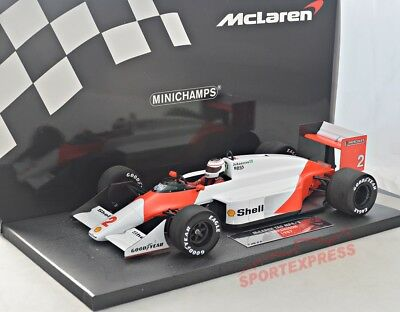 NEW 1/18 Minichamps 537871802 McLaren TAG MP4/3, F1 GP 1987, Johansson #2