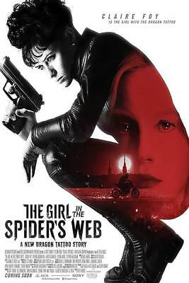 "The Girl in the Spider's Web Intl B Dbl Sided Orig Movie Poster 27""x40"""