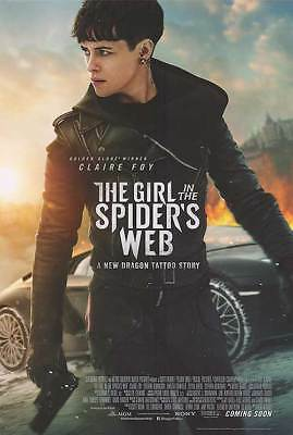 "The Girl in the Spider's Web Intl C Dbl Sided Orig Movie Poster 27""x40"""