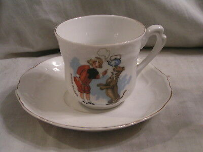 Vintage Buster Brown Cup And Saucer