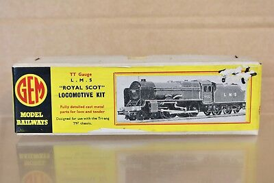 Gem Tt Gauge Kit Built Lms 4-6-0 Royal Scott Class Locomotive Kit