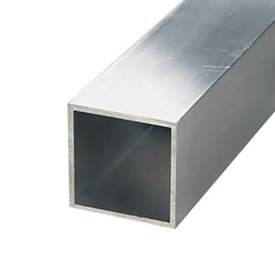"6063-T52 Aluminum Square Tube 5"" x 5"" x 1/8"" Wall x 12"""