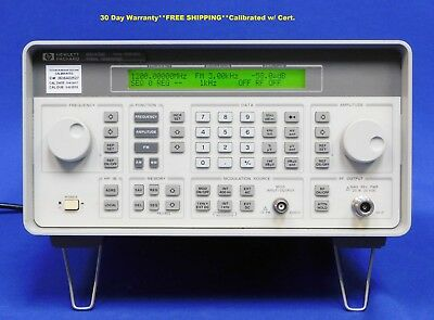 Agilent HP Keysight 8648B Synthesized RF Signal Generator 9 kHz-2000 MHz OPT 1EA