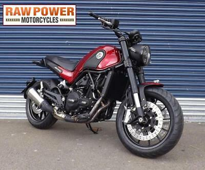 Benelli Leoncino 502 Red, ABS Cafe Racer, Retro