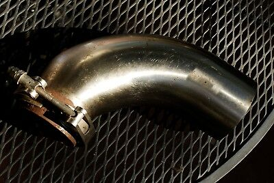 buick stage 2 STAINLESS 3 inch into 4 inch turbo downpipe