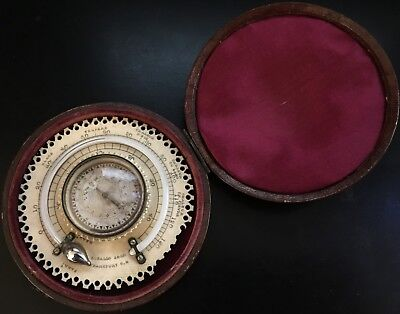 1810 Compass Dial & Thermometer Compendium by G. Gallo Sohn