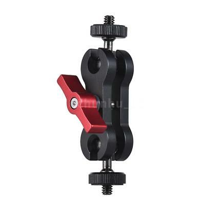 "Articulating Magic Arm Monitor Mount with Double Ballheads with 1/4"" Screw N8W0"