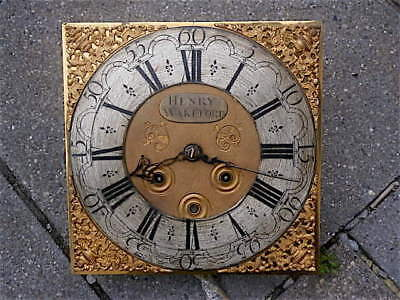 12+12 inch 8DAY c1720 LONGCASE   CLOCK dial + movement