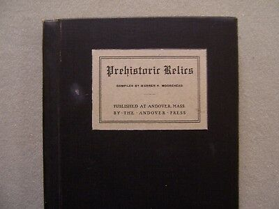 """Vintage Copy Of Mooreheads's """"prehistoric Relics"""" From The David Stilp Library"""