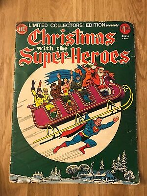 DC Christmas with the Super-Heroes (1975) C-43 FN+