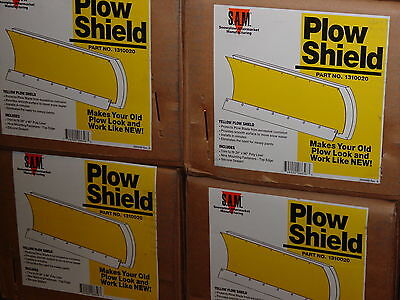 Snow Plow Shield poly liner blade 4x4 ATV meyer buyers 1310020 YELLOW for Meyer?