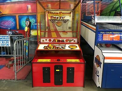 HoopShoot Rally Redemption Arcade Game